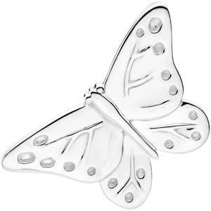 Babysitter Butterfly Brooch in Sterling Silver