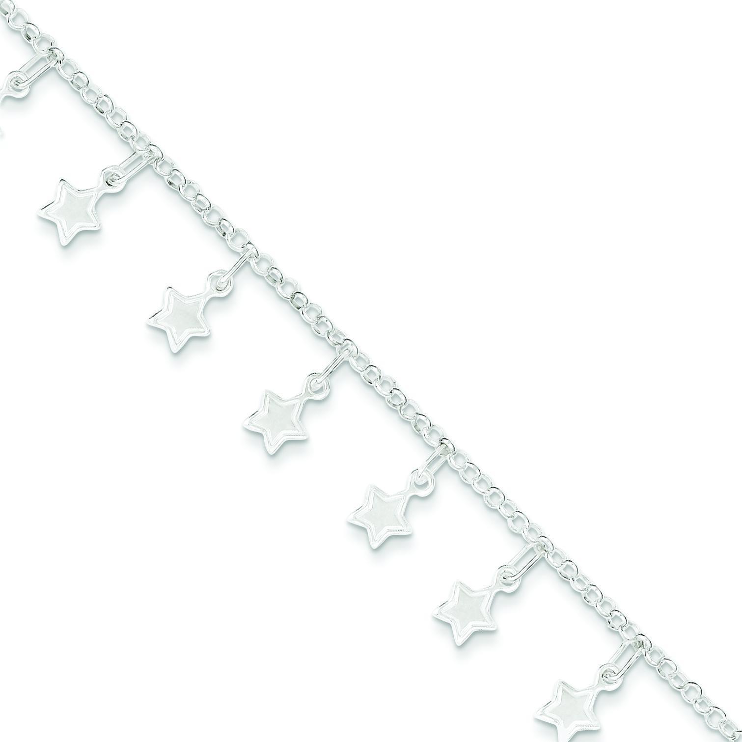 Stars Bracelet in Sterling Silver