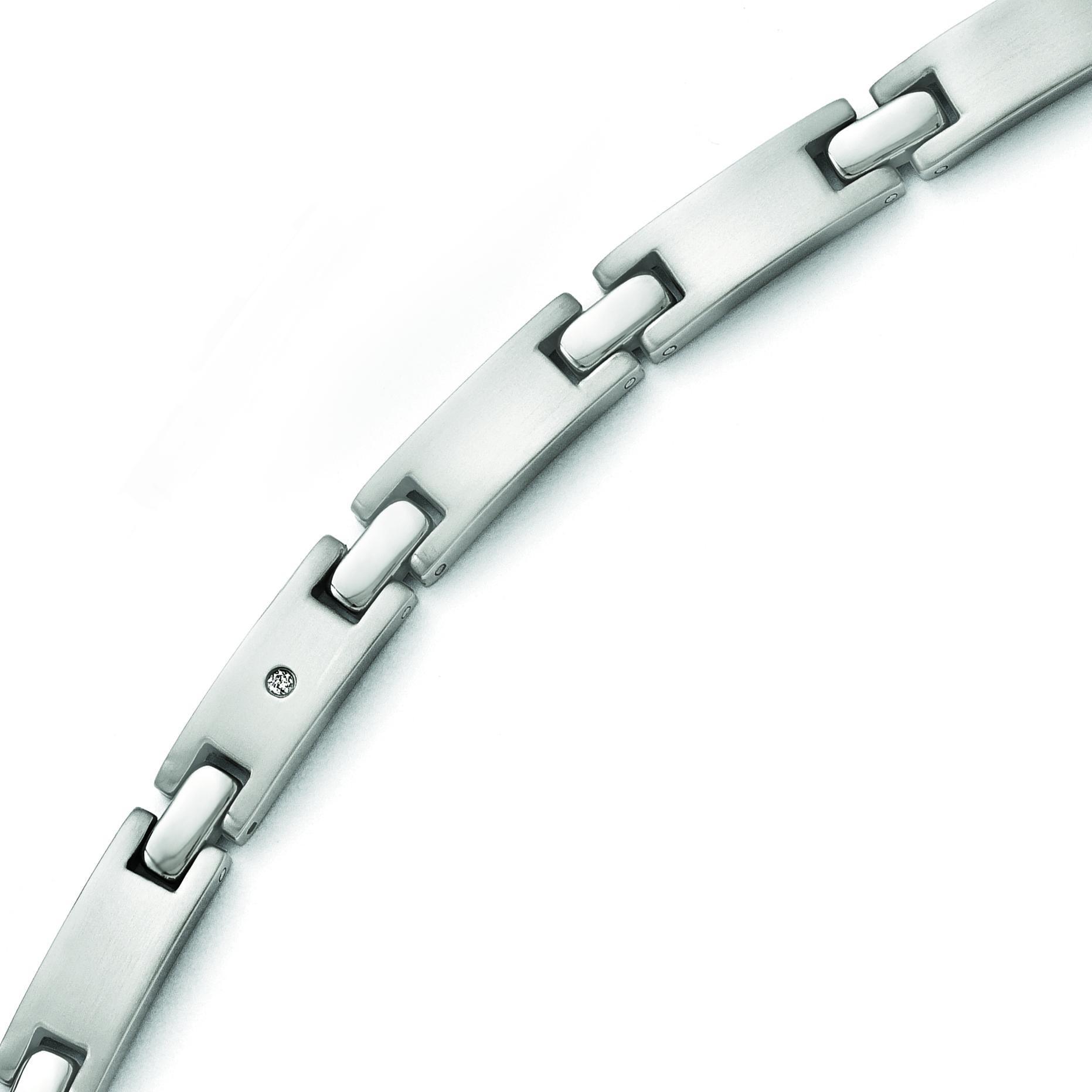 Brushed Bracelet in Titanium