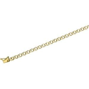Baby Charm Bracelet in 14k Yellow Gold