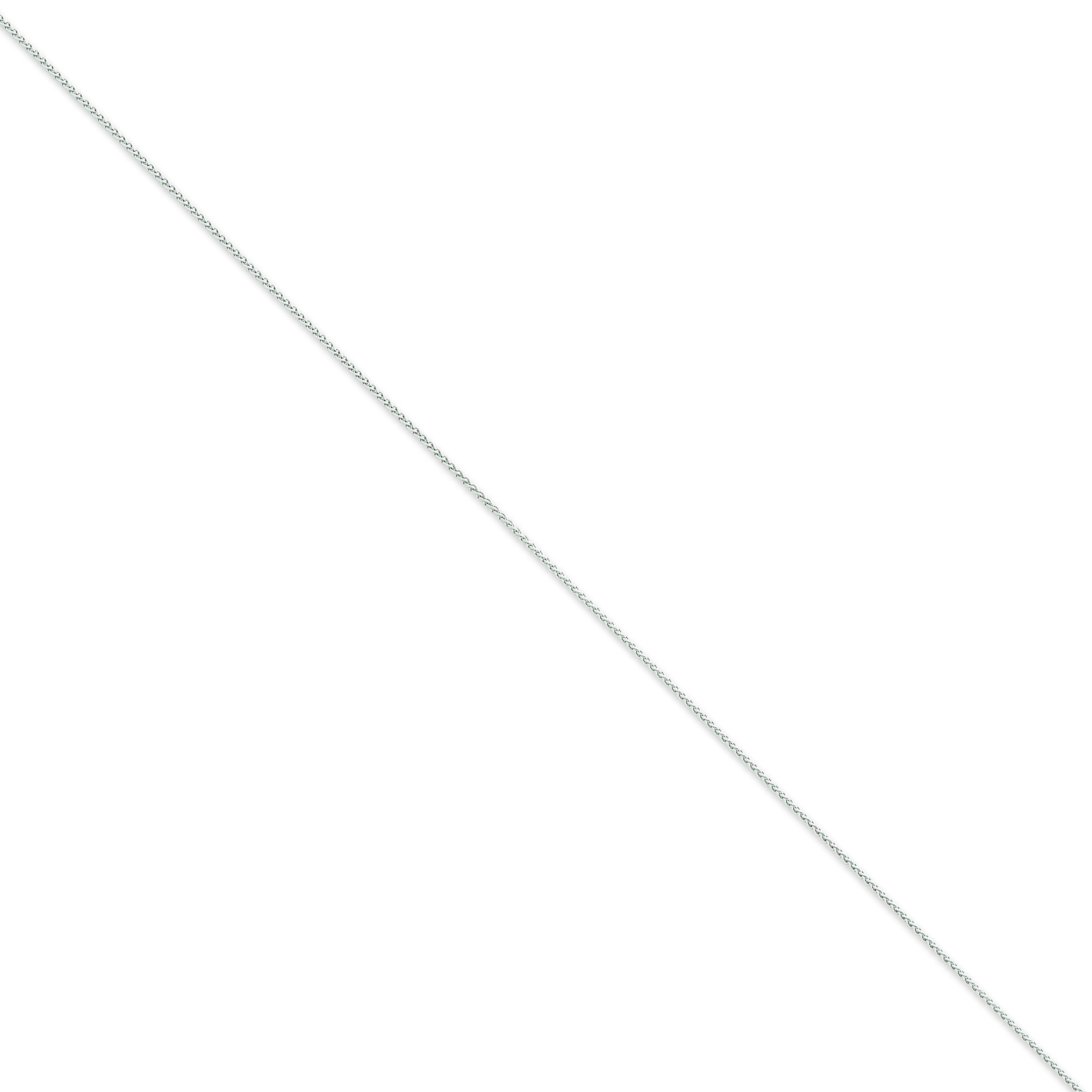 14k Yellow Gold 16 inch 1.00 mm  Spiga Choker Necklace