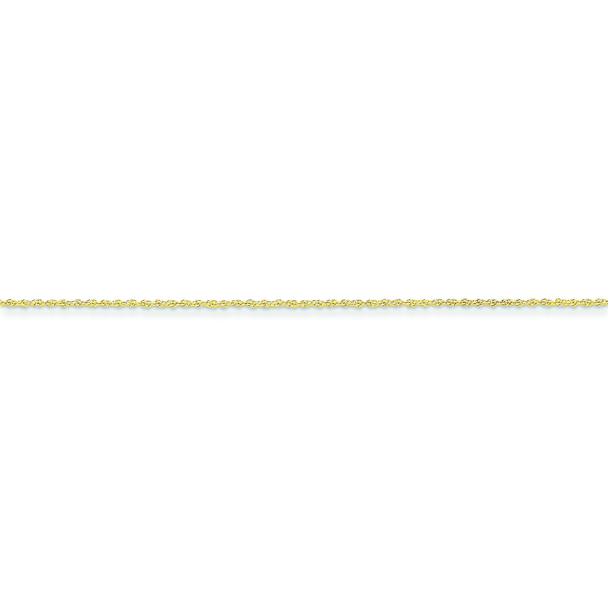 14k Yellow Gold 16 inch 1.30 mm Rope Choker Necklace