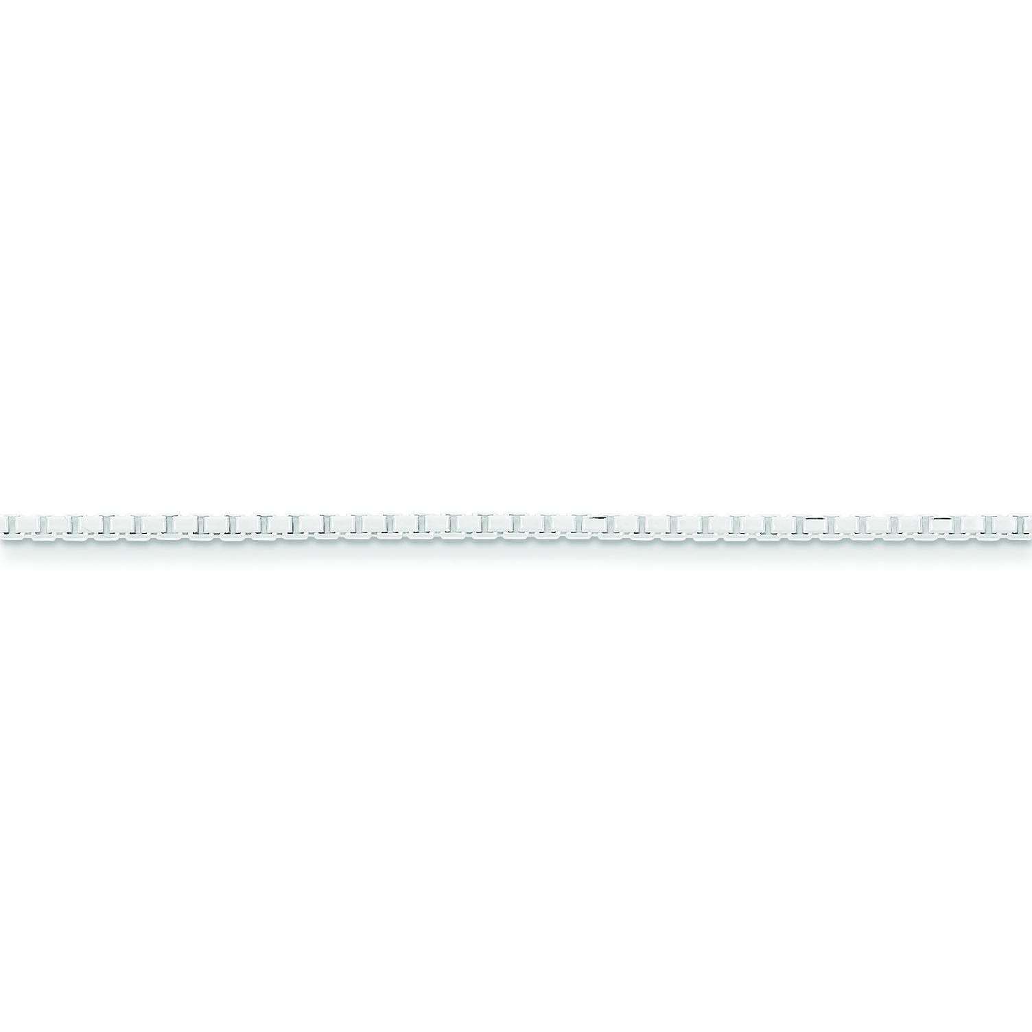 Sterling Silver 18 inch 1.70 mm  Box Collar Necklace