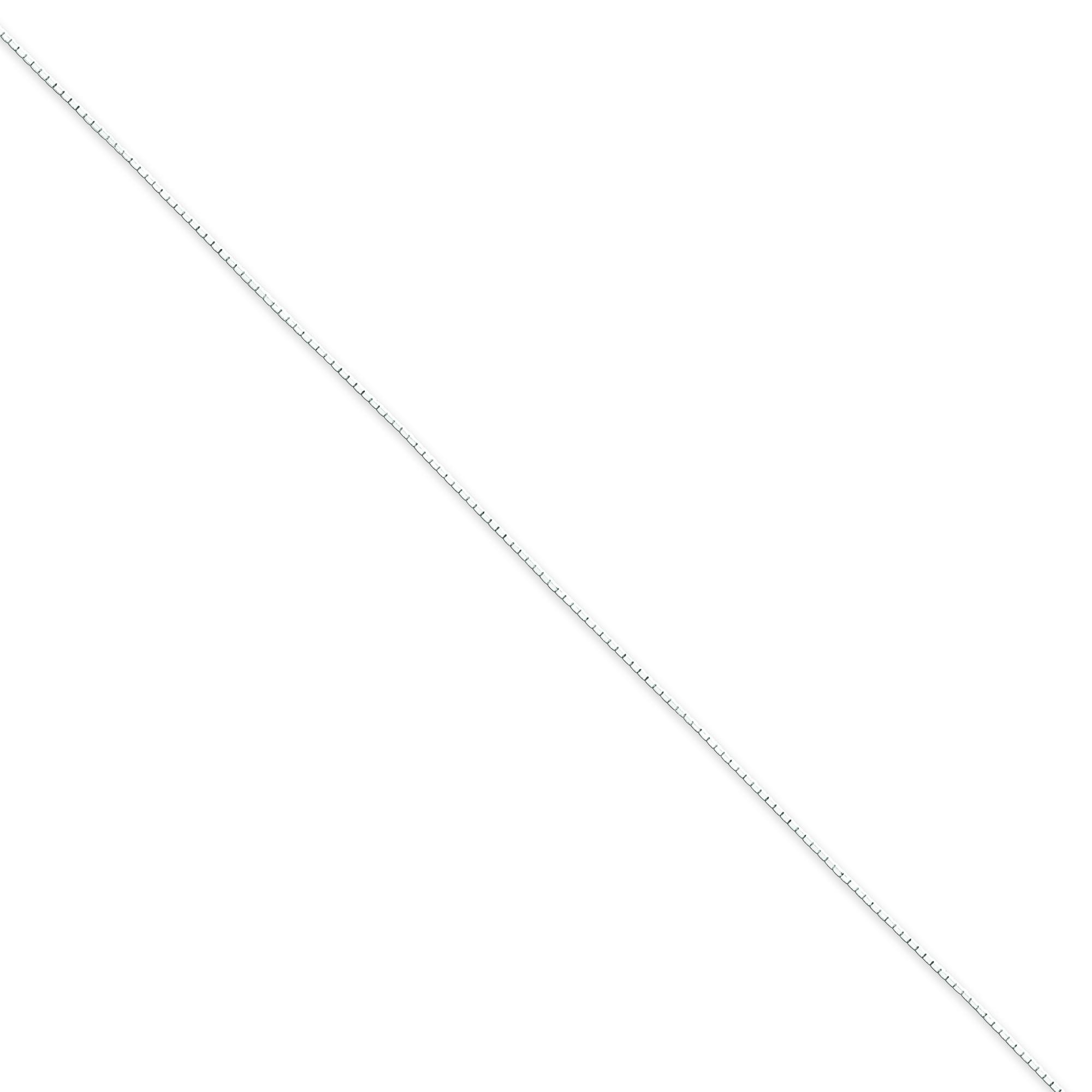 Sterling Silver 18 inch 0.60 mm  Box Collar Necklace