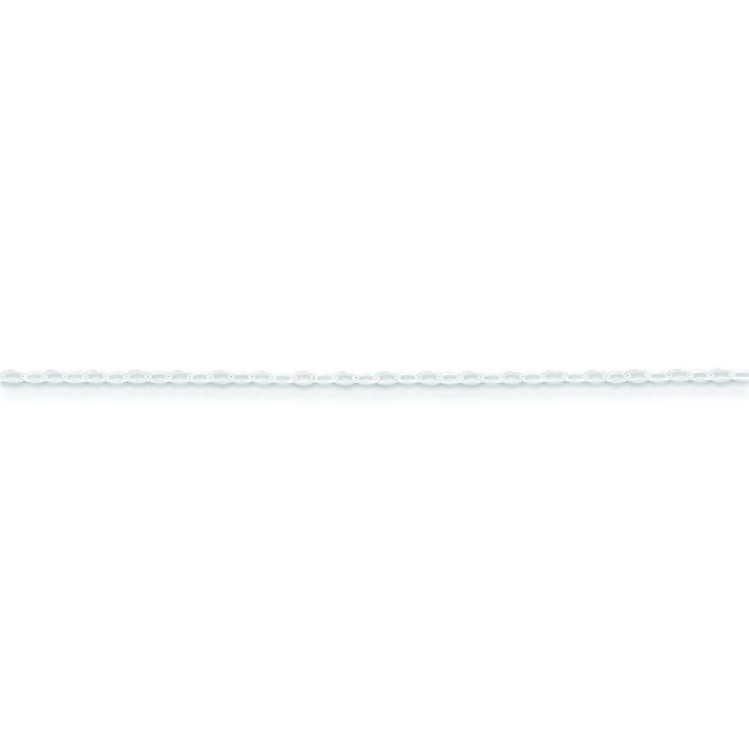 Sterling Silver 16 inch 1.32 mm Cable Choker Necklace
