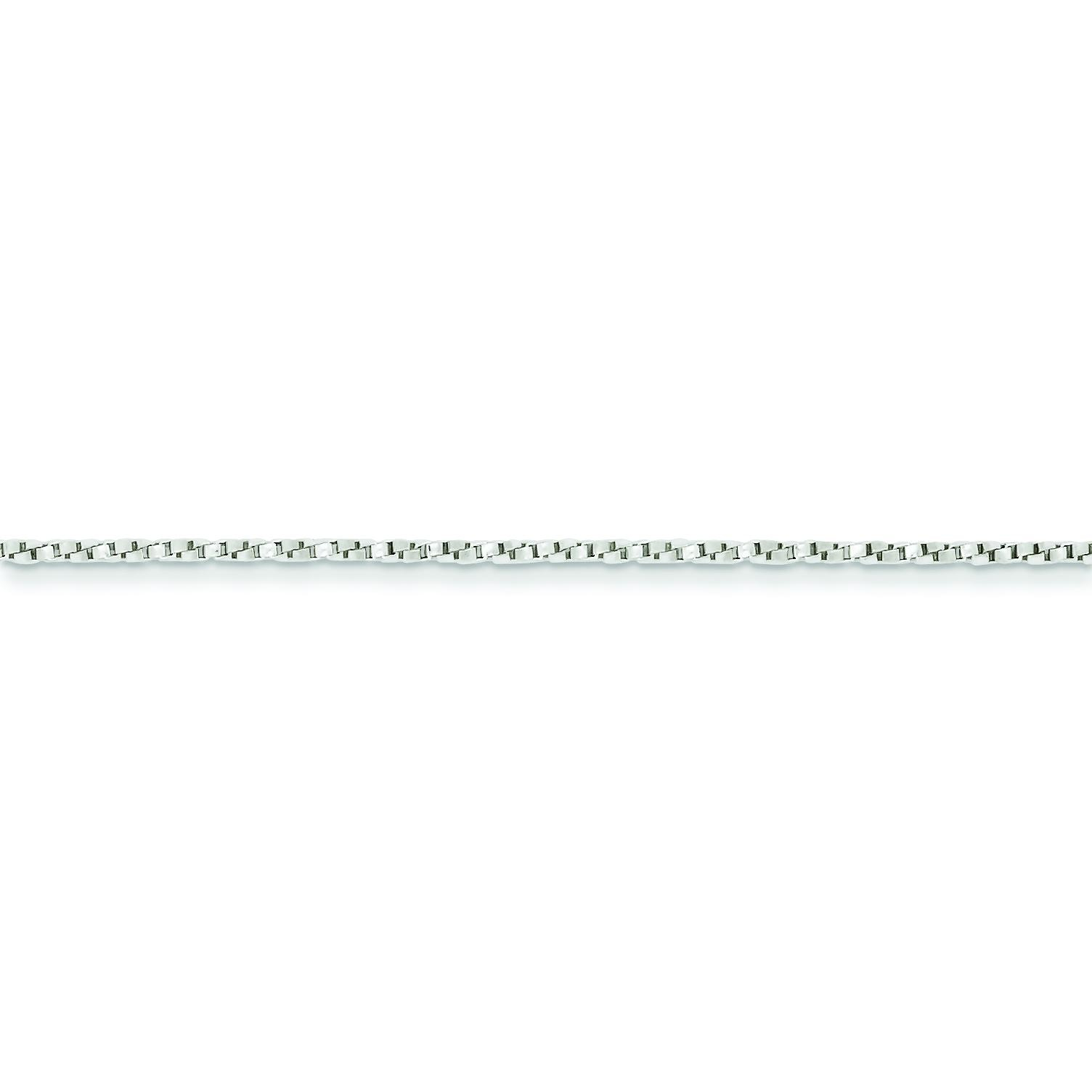 Sterling Silver 16 inch 1.35 mm  Box Choker Necklace