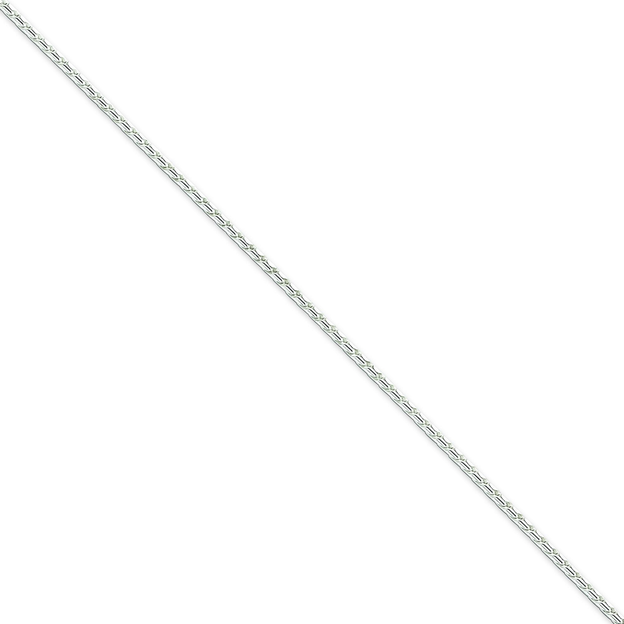 Sterling Silver 16 inch 1.75 mm Round Franco Choker Necklace