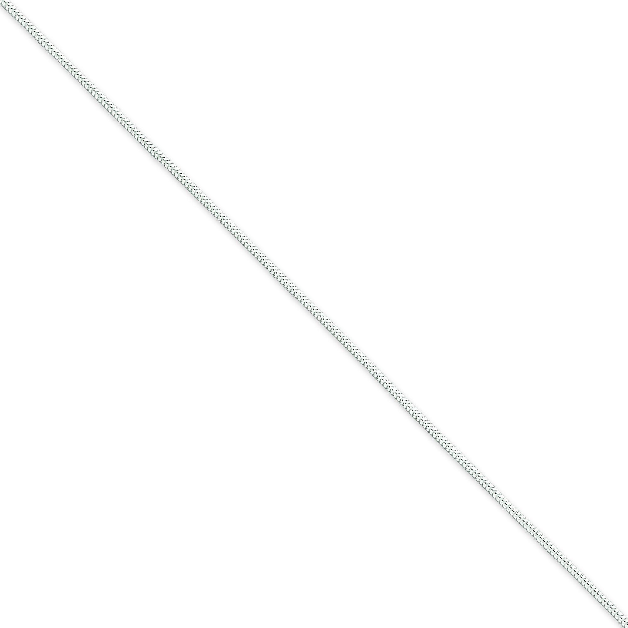 Sterling Silver 8 inch 1.20 mm  Snake Chain Bracelet