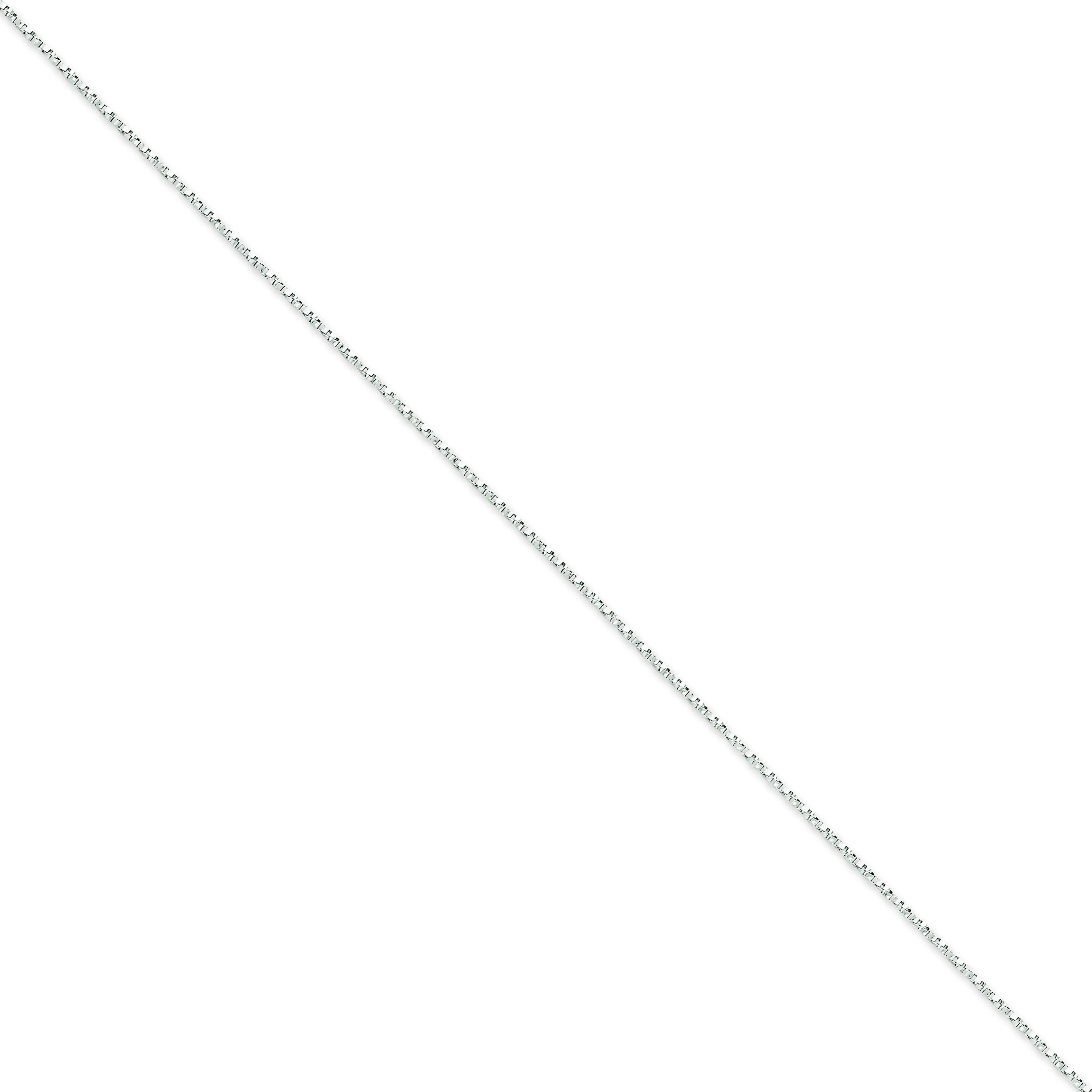 14k Yellow Gold 16 inch 1.20 mm  Box Choker Necklace