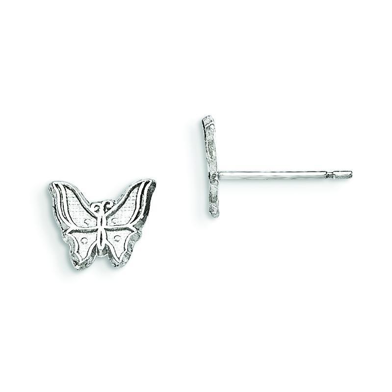 Butterfly Earrings in Sterling Silver
