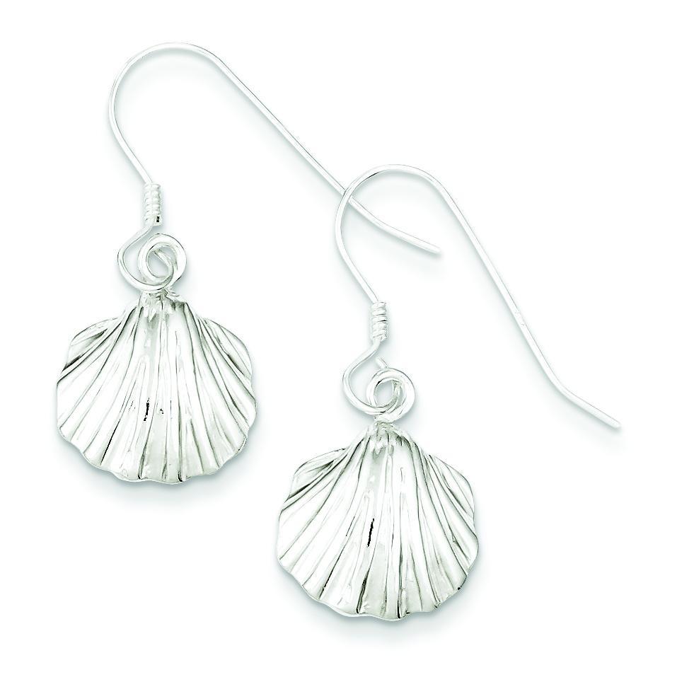 Shell Earrings in Sterling Silver
