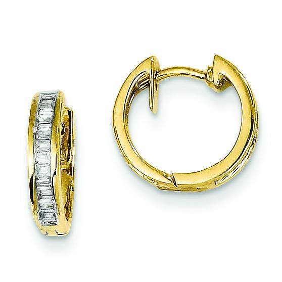 Diamond Earrings in 14k Yellow Gold (0.25 Ct. tw.) (0.25 Ct. tw.)