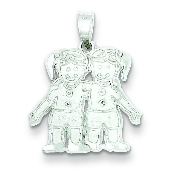 Girls Charm in Sterling Silver