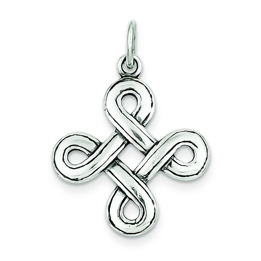 Celtic Pendant in Sterling Silver