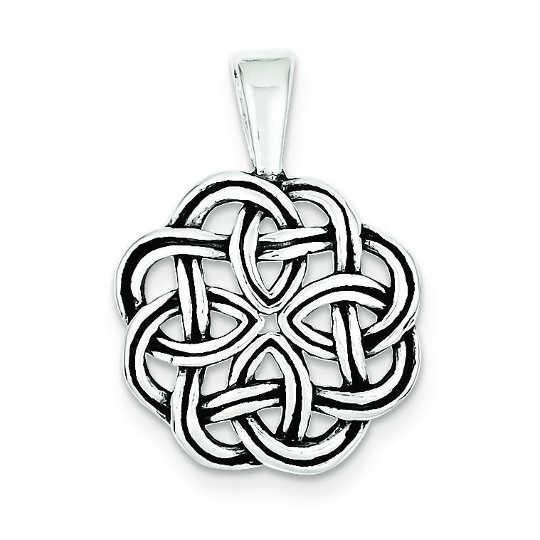 Celtic Pendant in Sterling Silver