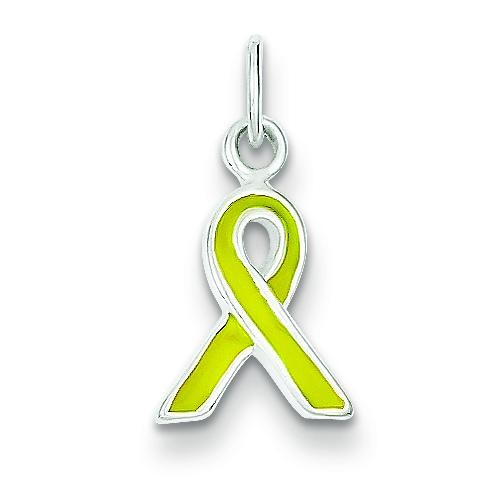 Awareness Charm in Sterling Silver