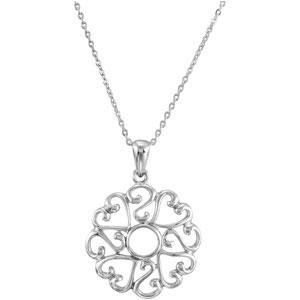 Remember I Love You Oldest Child Necklace in Sterling Silver