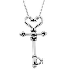 The CovenantTrade Mother Pendant Chain in Sterling Silver
