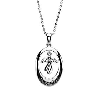 Caregiver Pendant Chain in Sterling Silver