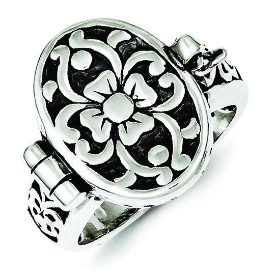 Antique Locket Ring