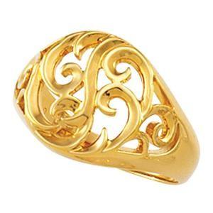 Freeform Ring in 14k Yellow Gold