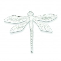 Dragon Fly Pin in Sterling Silver