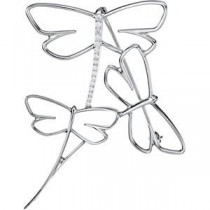 Diamond Dragonfly Brooch (0.2 Ct. tw.) (0.2 Ct. tw.)