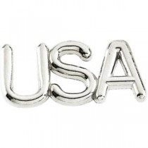 Usa Lapel Pin in 14k Yellow Gold