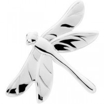 Dragonfly Brooch in Sterling Silver