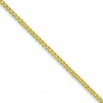 1.75mm Double Strand Rope Bracelet in 14k Yellow Gold