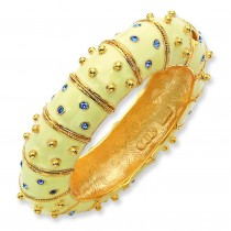 Ivory Enamel Bracelet in Fashion