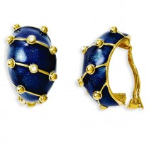 Blue Enamel Bracelet in Fashion