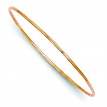 Slip-On Bangle Bracelet in 14k Rose Gold