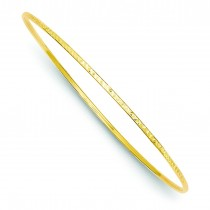 Diamond-Cut Slip-On Bangle Bracelet in 14k Yellow Gold