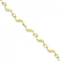 Diamond-Cut Bracelet in 14k Yellow Gold