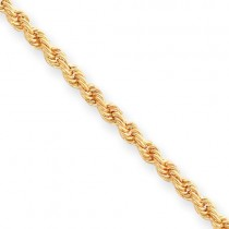 Diamond Cut French Rope Bracelet in Fashion