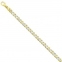 Polished Fancy Link Bracelet in 14k Yellow Gold