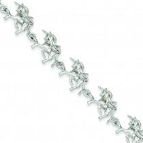 Unicorns Bracelet in Sterling Silver