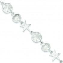 Seashells Bracelet in Sterling Silver