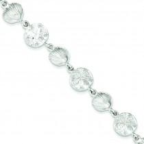 Seashells SDollars Bracelet in Sterling Silver