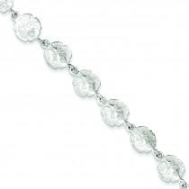 Sand Dollars Bracelet in Sterling Silver