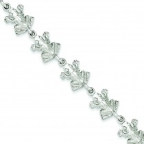 Frogs Bracelet in Sterling Silver