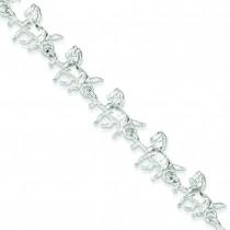 Horses Bracelet in Sterling Silver
