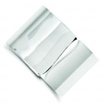 40mm Fancy Cuff Bangle Bracelet in Sterling Silver