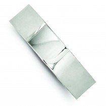 14.75mm Fancy Cuff Bangle Bracelet in Sterling Silver