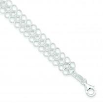 Fashion Bracelet in Sterling Silver