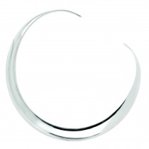 Neck Bangle in Sterling Silver