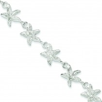 Starfish Bracelet in Sterling Silver