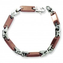 IP Plated Bracelet in Stainless Steel