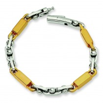 IP Plating Link Bracelet in Stainless Steel